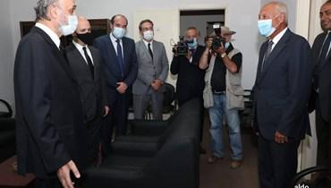 """جعجع يلتقي أبو الغيط بحضور وفد من """"القوات اللبنانية"""""""