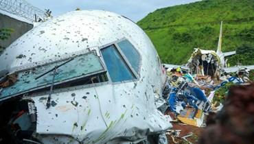 تحطّم الطائرة الهنديّة: الحصيلة ترتفع إلى 18 قتيلاً ونحو 100 جريح