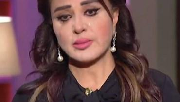 مادلين طبر تبكي على الهواء بسبب إنفجار بيروت