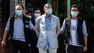 """بومبيو """"قلق جدًّا"""" إزاء توقيف قطب الإعلام جيمي لاي في هونغ كونغ"""