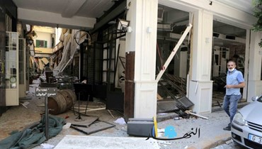 بالصور: شارع الفرح حزين بعد الانفجار... حانات ومطاعم الجميزة ومار مخايل في قبضة المجهول