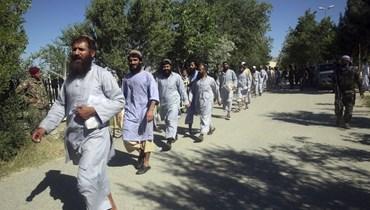 """إطلاق آخر سجناء """"طالبان""""  تمهيداً لبدء مفاوضات السلام"""