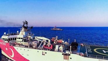"""تركيا تتّهم فرنسا بـ""""مفاقمة التوتر"""" في شرق المتوسط"""