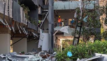 """الأمم المتحدة قلقة من """"مخلّفات سامّة"""" لانفجار بيروت"""