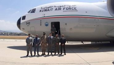 وصول طائرة كويتية ثانية إلى مطار بيروت