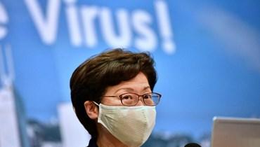 """رئيسة السلطة التنفيذية في هونغ كونغ تقطع علاقاتها بكامبردج: """"أشعر بخيبة"""""""