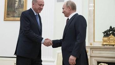 الكرملين: بوتين بحث قضايا ليبيا وسوريا في اتصال هاتفي مع إردوغان