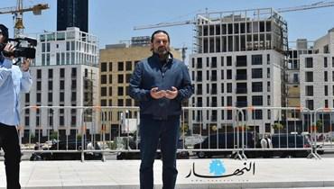 آيات من القرآن... صورة لسعد الحريري من طائرته الخاصّة خلال توجّهه إلى لاهاي