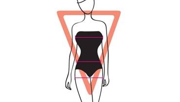 هل جسمكِ على شكل المثلث المقلوب؟ هكذا تخسرين الدهون من المنطقة العليا!