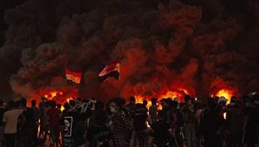 سقوط صاروخ في محيط مطار بغداد يوم وصول الكاظمي إلى واشنطن