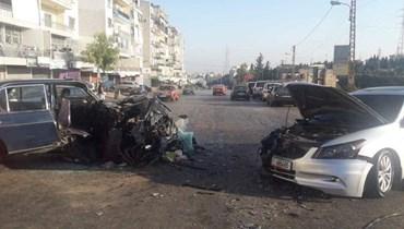 حادث سير مروّع على طريق عام ضهرالعين مفرق الهيكلية الكورة