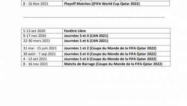 """""""كاف"""" يعلن المواعيد الجديدة لتصفيات كأس العالم وأمم أفريقيا (مستند)"""