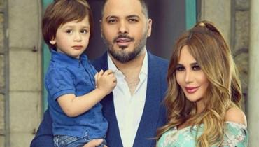 زوجة رامي عياش تنشر أول صورة لها بعد إنفجار المرفأ