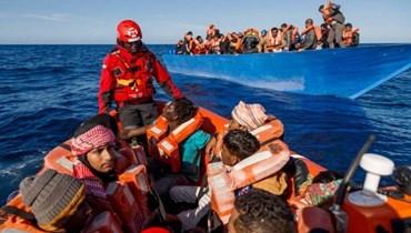 مقتل 45 مهاجراً على الأقل في حادث غرق قبالة سواحل ليبيا