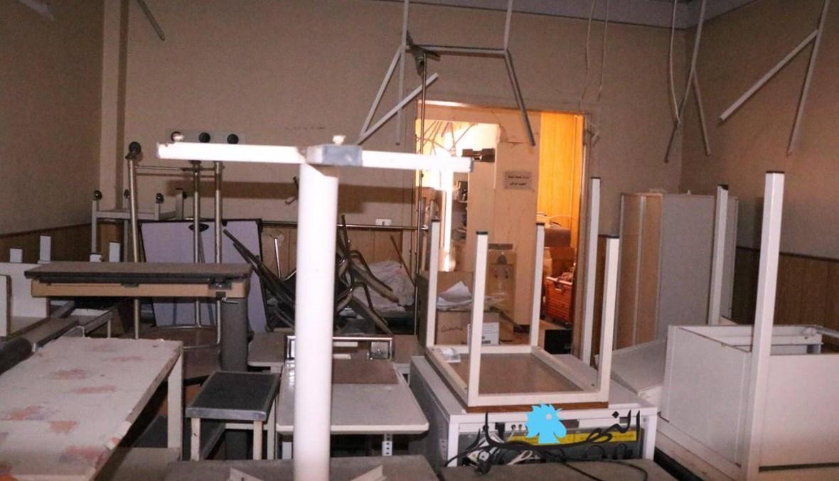بالصور - كيف بدا المشهد من داخل مستشفى الكرنتينا بعد مرور أسبوعين على انفجار بيروت؟