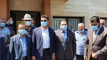غجر أشرف على تفريع المازوت العراقي في منشآت الزهراني