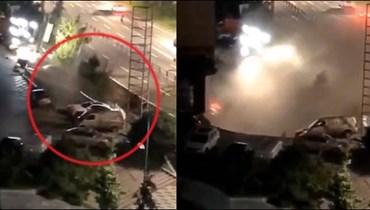 بالفيديو: شارع صيني يبتلع عشرات السيارات بشكل مفاجئ!