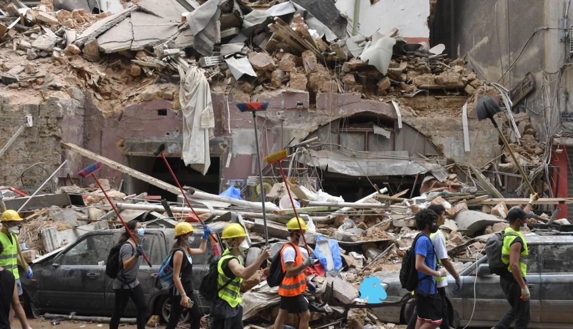 كيف يعيش سكان مارمخايل- الجميزة بعد أسبوعين على الانفجار؟ (صور)