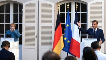 ماكرون: فرنسا وألمانيا تريدان تهدئة التوترات واحترام السيادة في شرق المتوسط