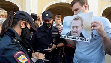 طائرة طبية ستقلع إلى روسيا لنقل المعارض الروسي أليكسي نافالني