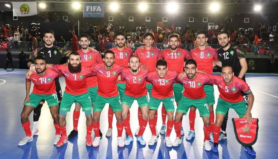 """المغرب بطلاً لأفريقيا في """"الفوتسال"""""""