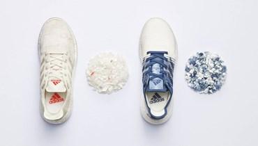 """خطوة لافتة نحو مستقبل مستدام... """"أديداس"""" تحوّل البلاستيكيات إلى أحذية وملابس رياضيّة"""