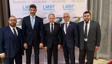 """همام وقانصوه """"يدعمان"""" الاتحاد اللبناني للهوكي على الجليد في مونتريال"""