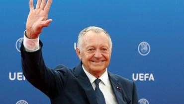 رئيس ليون يصعد قضية إلغاء الدوري الفرنسي للبرلمان