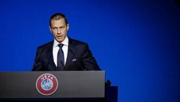 """رئيس """"يويفا"""" يعلّق على قرار إنهاء الدوري الفرنسي"""