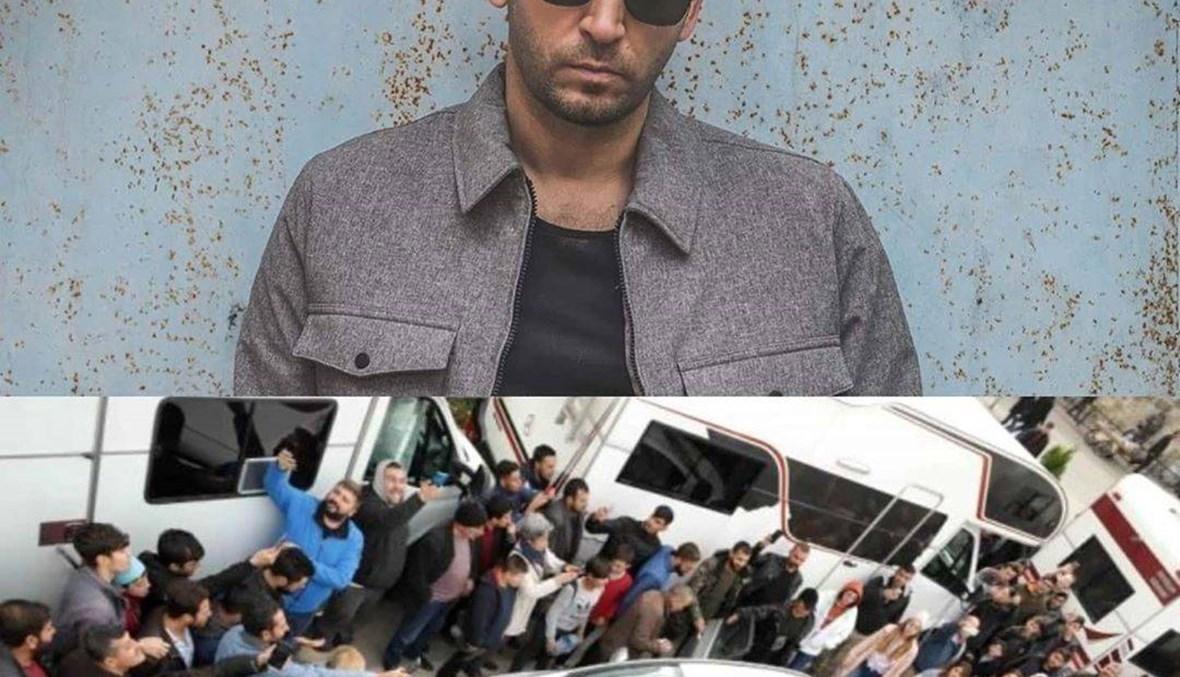 على طريقة بوراك أوزجيفيت في لبنان... جمهور مراد يلدريم يتسبّب في إيقاف التصوير