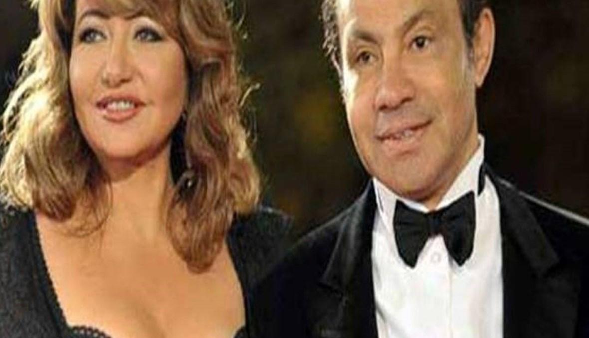 """""""صلاة الغائب"""" على روح منصور الجمال زوج ليلى علوي السابق ظهراً"""
