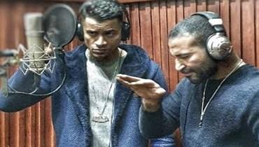 """تبادلا المدح في الكواليس... أحمد سعد يطرح """"برومو"""" أغنيته مع حسن شاكوش (فيديو)"""