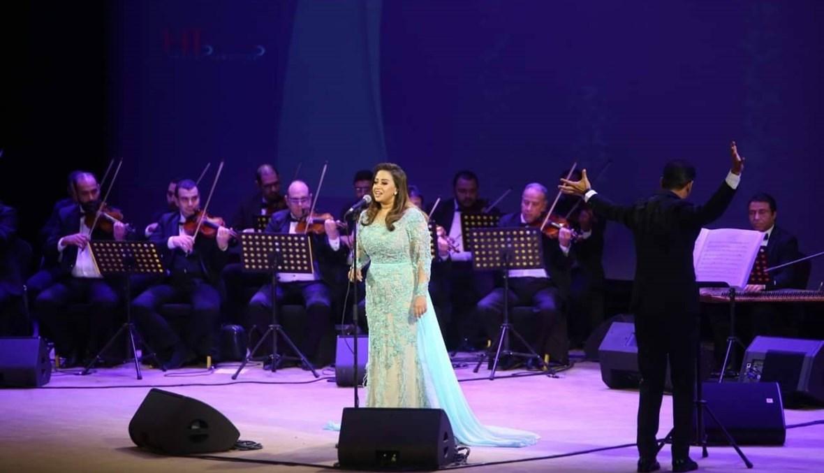 """محمد محي وحميد الشاعري ونجوم الفن في حفل """"ليلة حب"""" بالمنارة (صور)"""