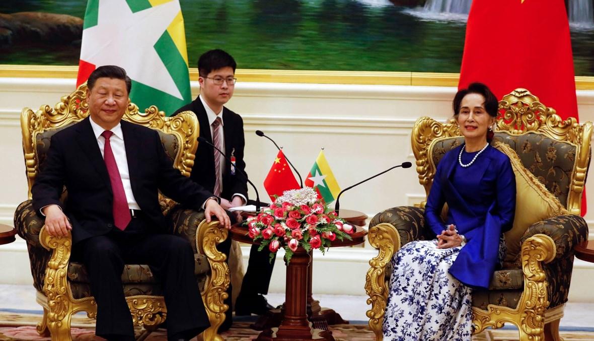 """شي وصل إلى بورما: الصين تطمح إلى """"حقبة جديدة"""" من العلاقات الثنائيّة"""