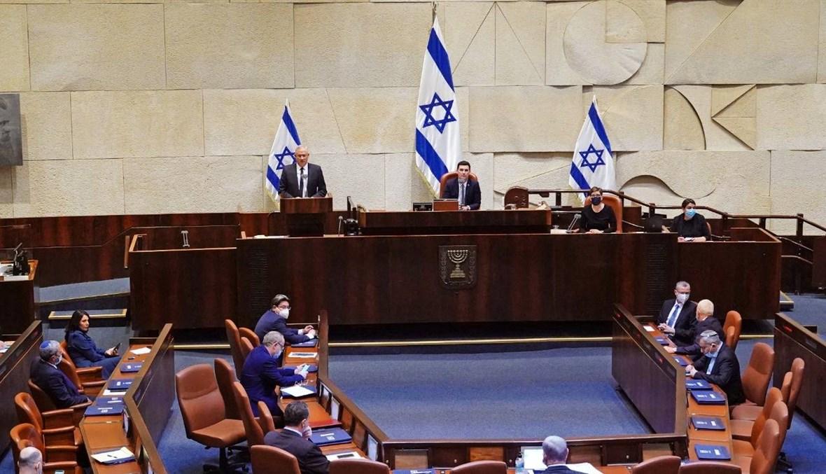 البرلمان الإسرائيلي يمنح الثقة حكومة الوحدة بين نتنياهو وغانتس
