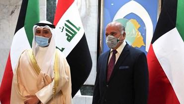 الكاظمي استقبل وزير الخارجية الكويتي: فرصة تاريخية لتطوير العلاقات