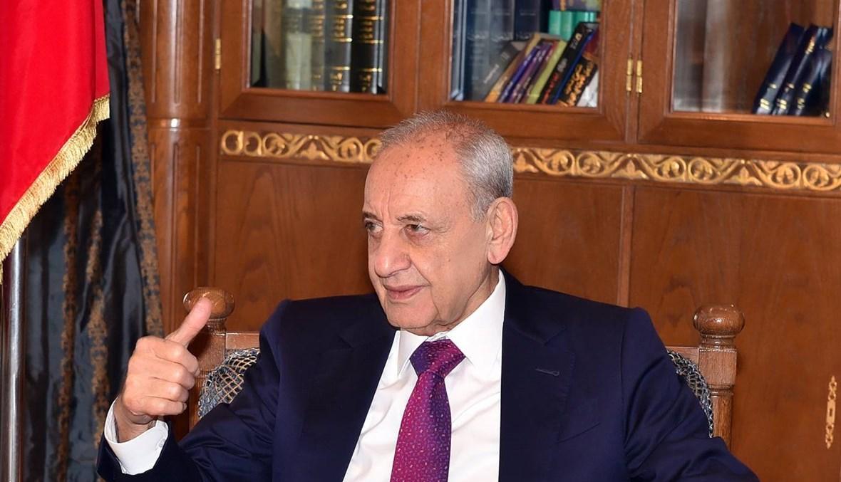 """برّي: الوضع في لبنان يتدحرج ويحصل تعقيدات في تشكيل الحكومة... والحريري """"مش على خاطرو"""""""