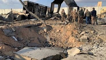 """النجاة من القصف الإيراني في عين الأسد """"معجزة"""""""