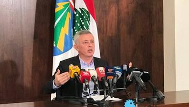 سليمان فرنجيه: طمع باسيل وجشعه يعرقلان تأليف الحكومة