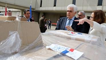 """معدّات فرنسية للحماية إلى مستشفى الحريري وحملات التوعية والوقاية من """"كورونا"""" مستمرة"""