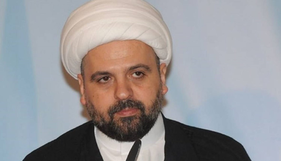 مع المفتي أحمد قبلان إذا استقال من موقعه