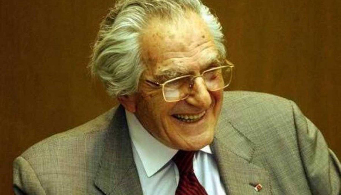في ذكرى غسان تويني... لبنانيون تذكروه في مواقف وصور