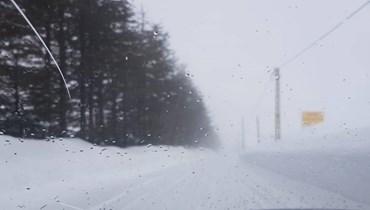هذه الطرق مقطوعة بالثلوج