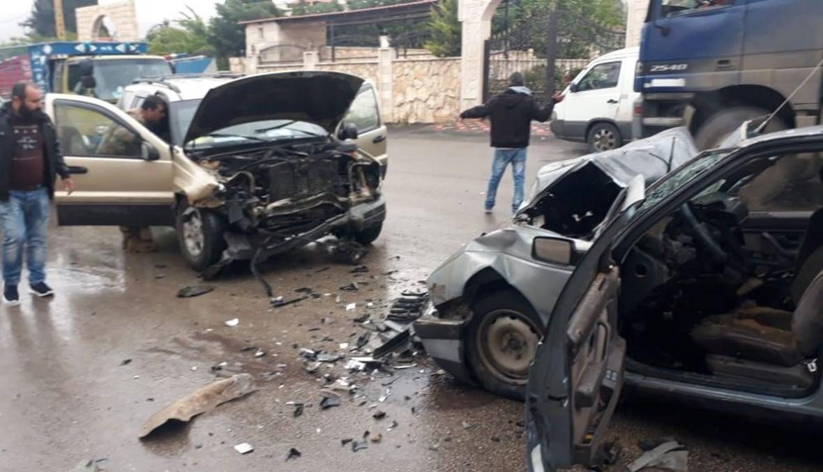 حادث سير مأسوي على طريق بعلبك حمص الدولية