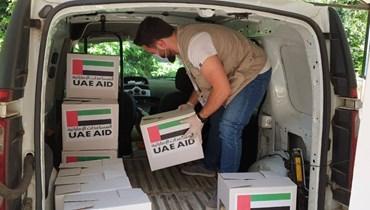 بالصور: سفارة الامارات تقدم  10.000 وجبة رمضانية في عكار
