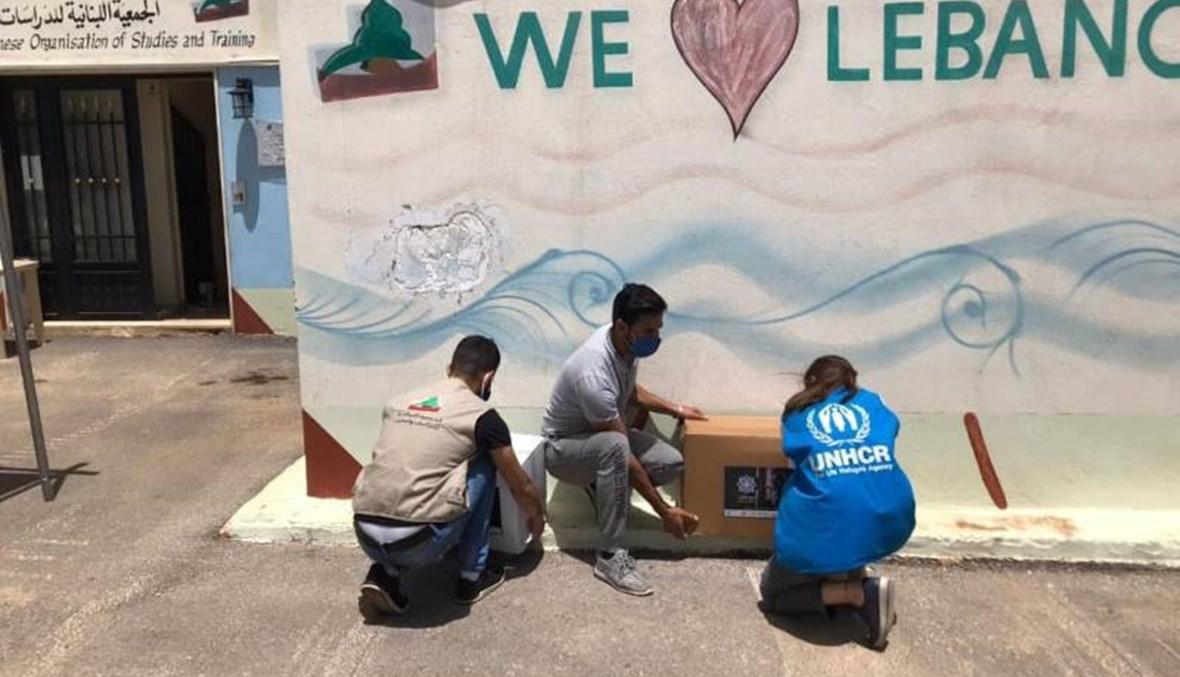 """منظّمة UNHCR أطلقت حملة لدعم أُسر لاجئة في البقاع... """"مع بعض منعطي الأمل"""""""