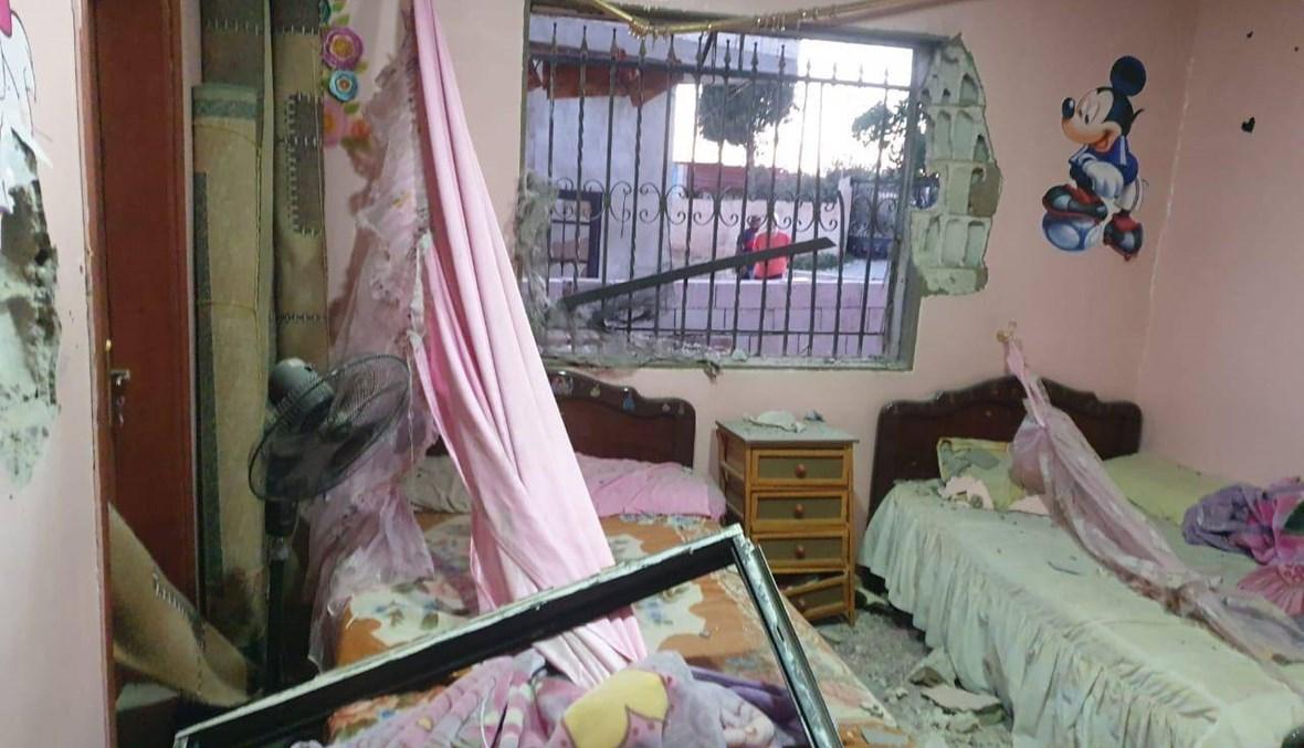 الأحداث الأمنية في بعلبك تابع... إشكال عائلي بالقذائف الصاروخية فجراً وأضرار مادية (صور)