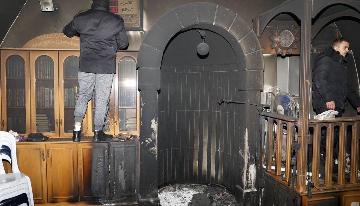 إسرئيل: حريق متعمّد في مسجد بالقدس الشرقيّة