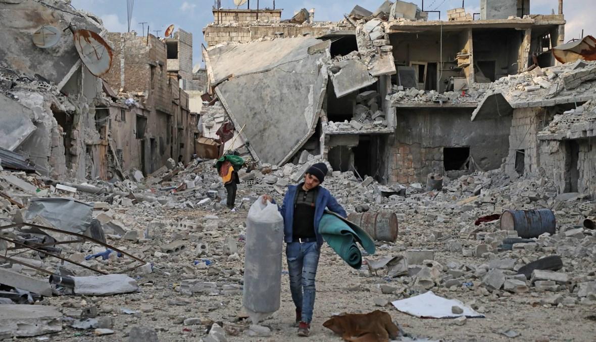 سوريا: غارات روسيّة في إدلب دعماً لقوّات النظام... مقتل 5 مدنيّين