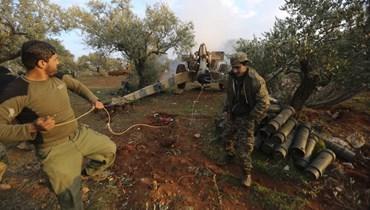 المعارضة السورية تستعيد السيطرة على مدينة سراقب